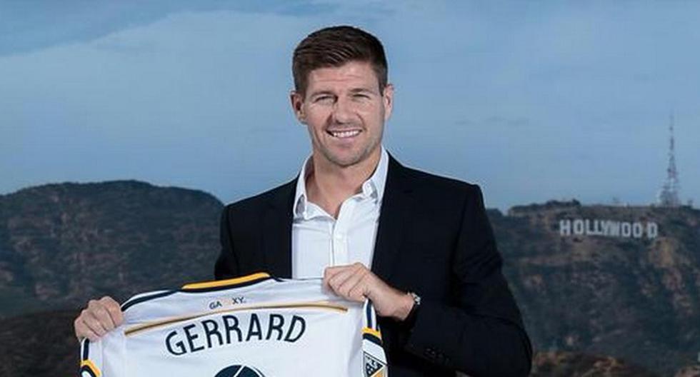 Los Ángeles Galaxy presentó a Steven Gerrard