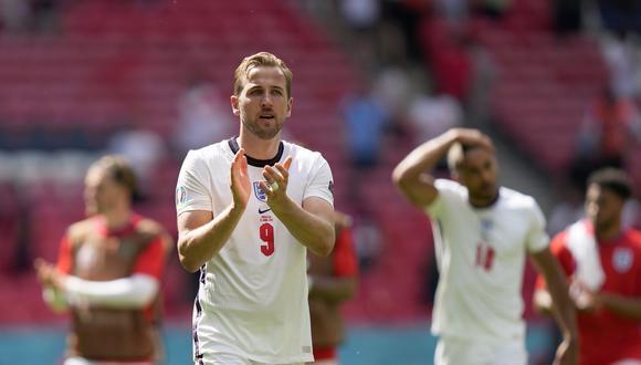 Harry fue titular en los dos primeros encuentros de Inglaterra en la Eurocopa 2021. (AP)