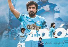 """Sporting Cristal oficializó el retiro de Jorge Cazulo: """"¡Gracias, Capitán!"""""""