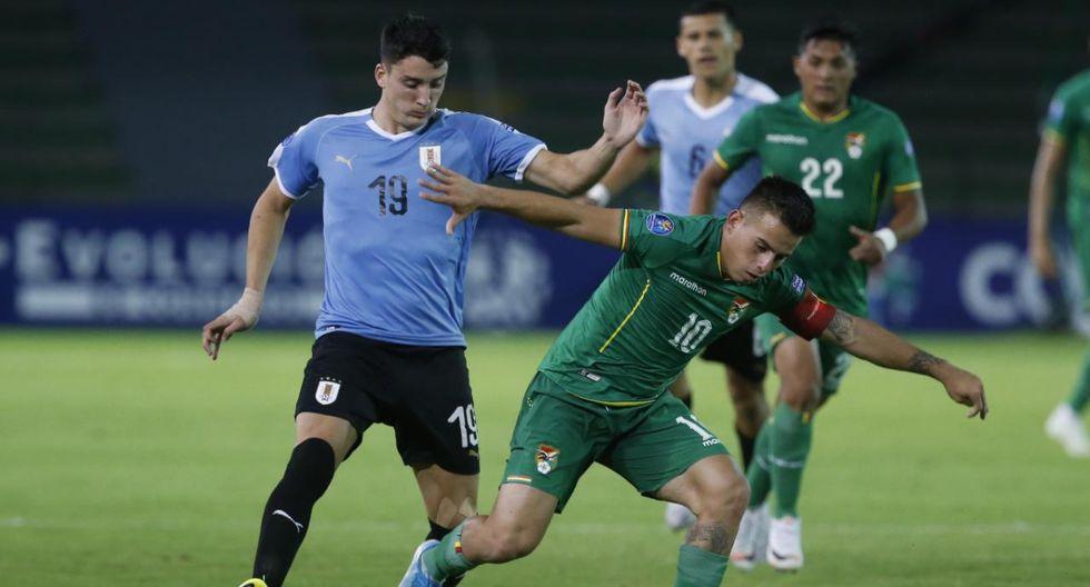 Bolivia vs. Uruguay Sub 23 EN VIVO | Foto: VIOLETA AYASTA/GEC