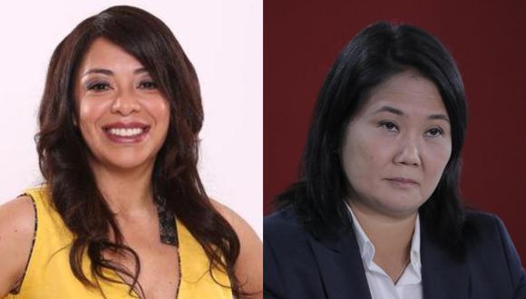 La actriz siempre se ha mostrado en contra del fujimorismo y ahora aprovechó en burlarse de Keiko Fujimori por perder las Elecciones Presidenciales por tercera vez.