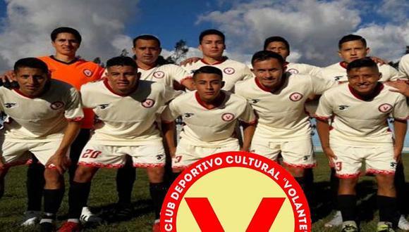 Deportivo Volante, el equipo de la Copa Perú que realizó su propia 'Teletón' para recaudar fondos | FOTO