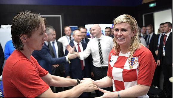 Luka Modric explicó cómo recibió la camiseta de la selección peruana