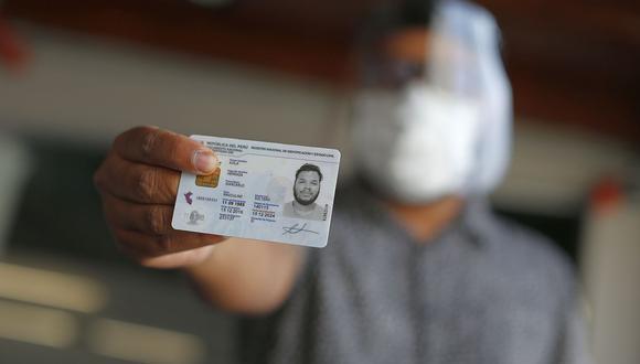 La Cuenta DNI servirá para cobrar el bono. (Foto: Mario Zapata | GEC)