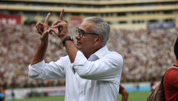 Gregorio Pérez llegó a Lima para unirse a Universitario. (Foto: Liga 1)