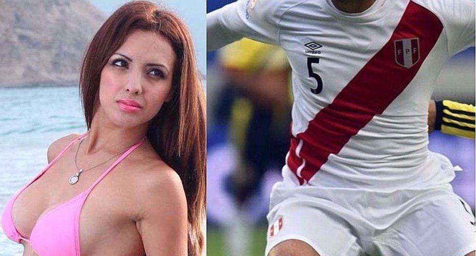 Jugador de la selección peruana 'chotea' a Rosangela Espinoza