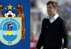 """Binacional: """"El comando técnico de Cesar Vigevani recibió una mejor oferta laboral y el club no negó su salida"""""""