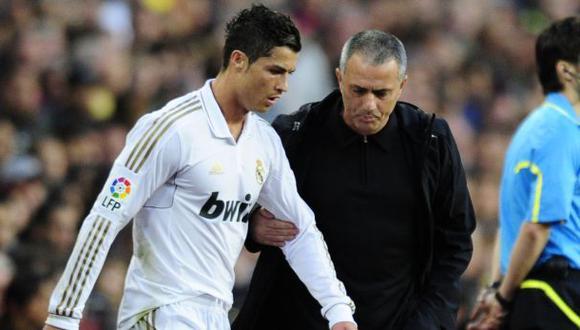 José Mourinho recordó una anécdota con Cristiano Ronaldo. (Foto: AFP)