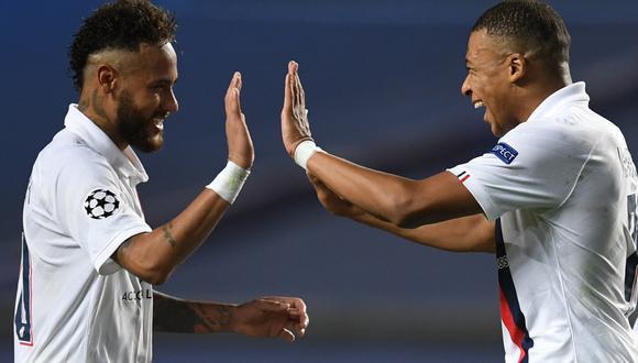 PSG se clasificó a las semifinales de la Champions League de la mano de Neymar y Mbappé. FOTO: AFP