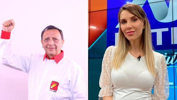 La periodista arremetió contra el ex congresista, Roger Najar.