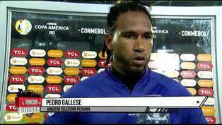 Pedro Gallese quedó dolido y triste tras derrota ante Brasil