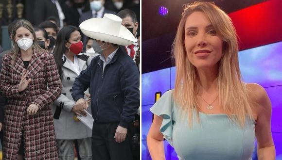 La periodista criticó el gesto que tuvo la Presidenta del Congreso contra Castillo y usuarios le hacen recordar que 'por su culpa' despidieron a una parqueadora,