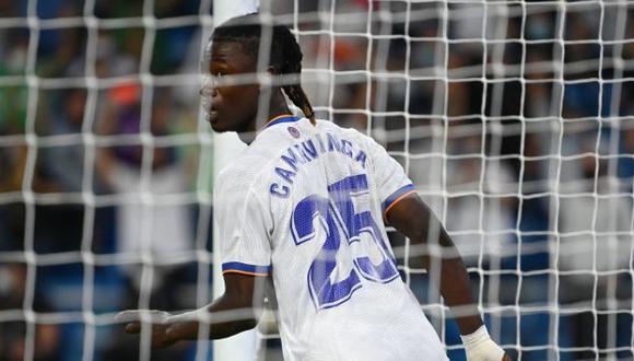 Eduardo Camavinga tiene un gol y una asistencia en sus dos primeros partidos en Real Madrid. (Foto: AFP)