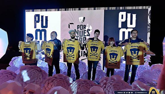 Equipo de la Liga MX presentó camiseta por el día de los muertos