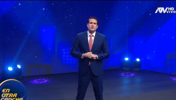 Paco Bazán reapareció en televisión y se disculpó por sus comentarios sobre la COVID-19 y el uso de mascarillas. (Foto: Captura de video)