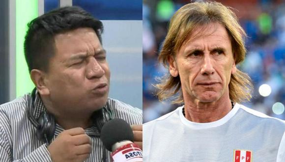 Periodista criticó duramente a ambos integrantes de la selección peruana.