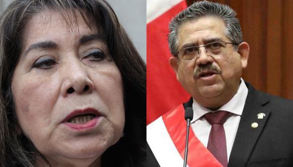 La congresista Martha Chávez se refirió a los problemas políticos que afronta el país y sostuvo que la Mesa Directiva liderada por Manuel Merino debería encargarse del despacho presidencial.