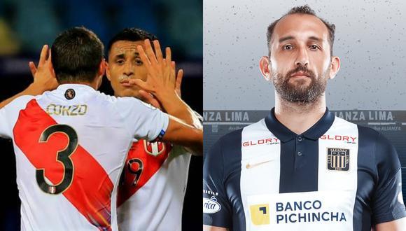 El volante de la selección peruana respondió a Hernán Barcos en una historia de Instagram.