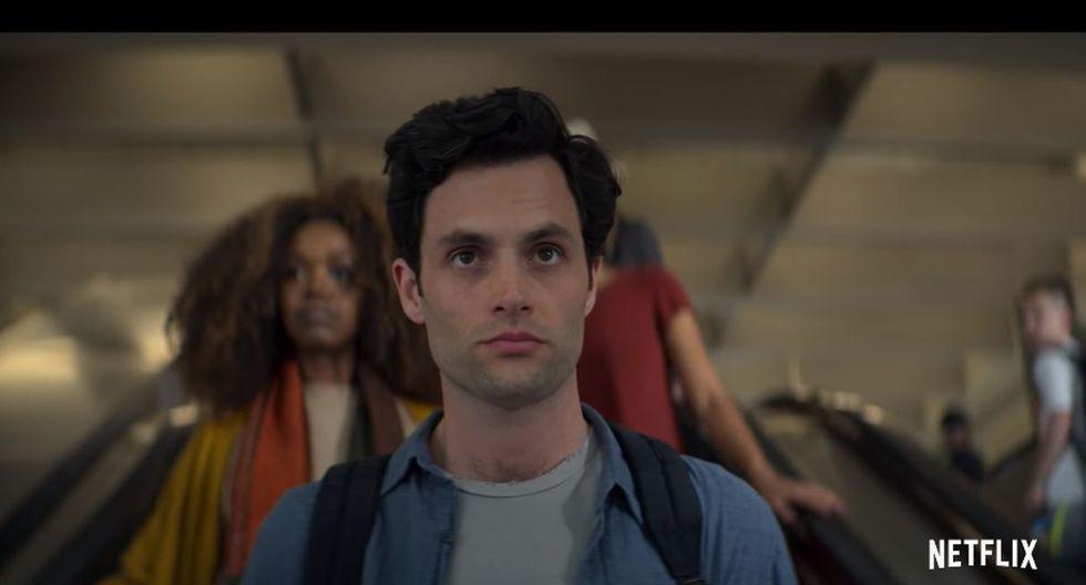 """Netflix estrenó el primer tráiler de la segunda temporada de """"You"""". (Foto: Captura de video)"""