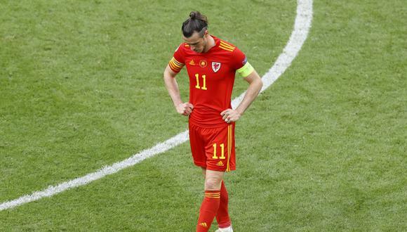 Gareth Bale y Gales se despidieron de la Eurocopa 2021 a manos de Dinamarca. (Foto: AFP)