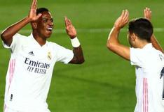 Real Madrid vs Shakhtar Donetsk: Vinicius Júnior sorprendió con gol más rápido en Champions League [VIDEO]