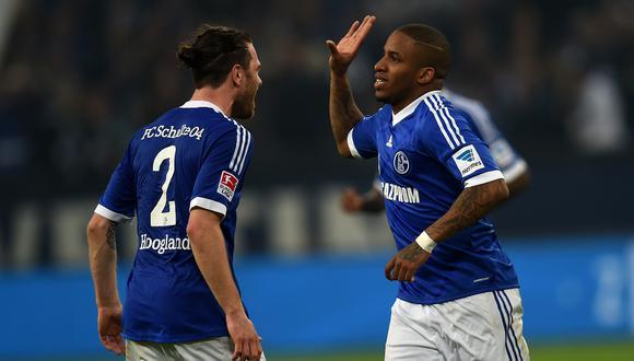La conquista de Farfán a Bayern en 2011 es inolvidable para los hinchas del Schalke 04. (Foto: AFP)