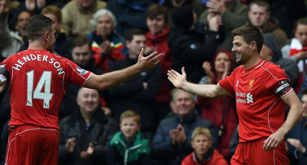 Liverpool derrotó 2-1 a Queens Park Rangers con gol de Steven Gerrard [VIDEO]