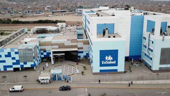 Operación se realizó en el Servicio de Ginecología Oncológica del Hospital de Alta Complejidad Virgen de la Puerta. Foto: EsSalud