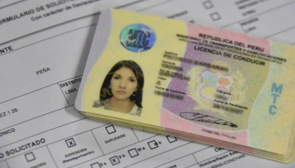 MTC amplía vigencia de certificados de salud para obtener licencia de conducir. (Foto: MTC)