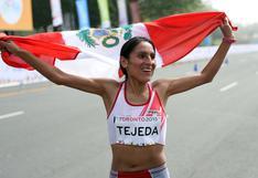 Gladys Tejeda va por su boleto a los Juegos Olímpicos de Tokio 2020
