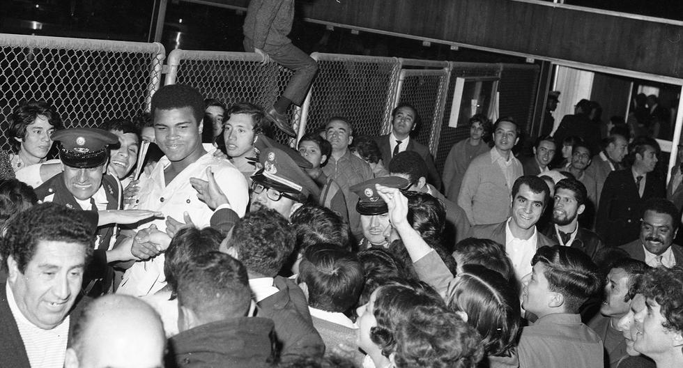 Muhammad Ali: La visita del cuatro veces campeón Mundial al Perú