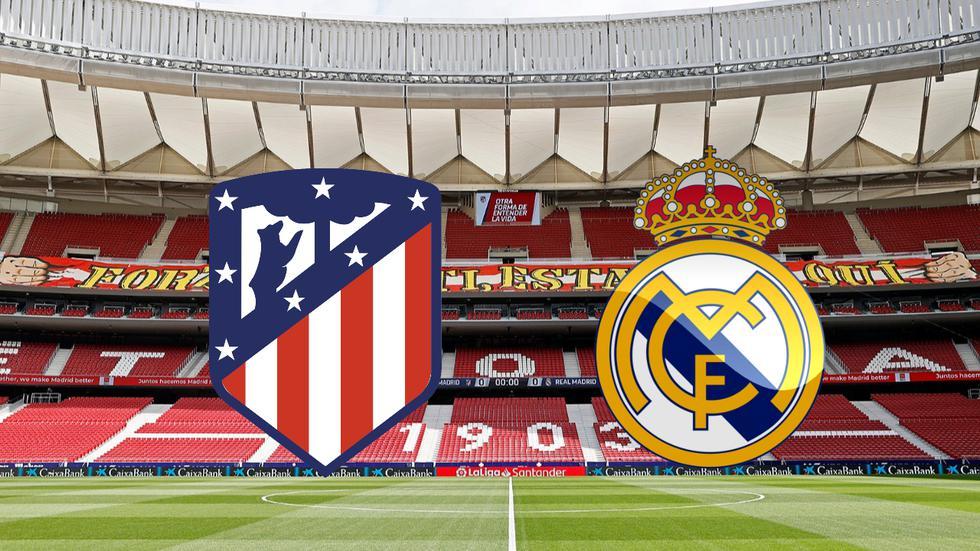 Real Madrid vs Atlético de Madrid en vivo por LaLiga