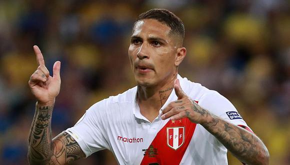 Paolo Guerrero sufrió una lesión en la rodilla que preocupa al comando técnico de la Selección Peruana.