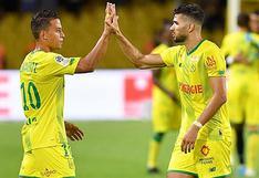 Selección peruana   Cristian Benavente presente en triunfo de Nantes ante Rennes por la Ligue 1   VIDEO