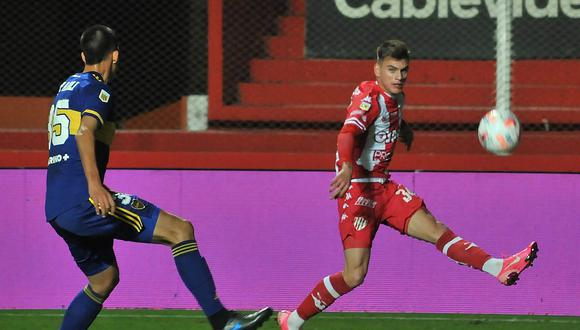 Boca Juniors empató 1-1 con Unión en Santa Fe. Los goles fueron de Agustín Obando y Fernando Andrés Márquez.
