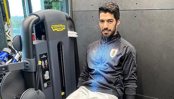 Luis Suárez se sometió a una artroscopia en la rodilla derecha en enero pasado. (Foto: Luis Suárez)