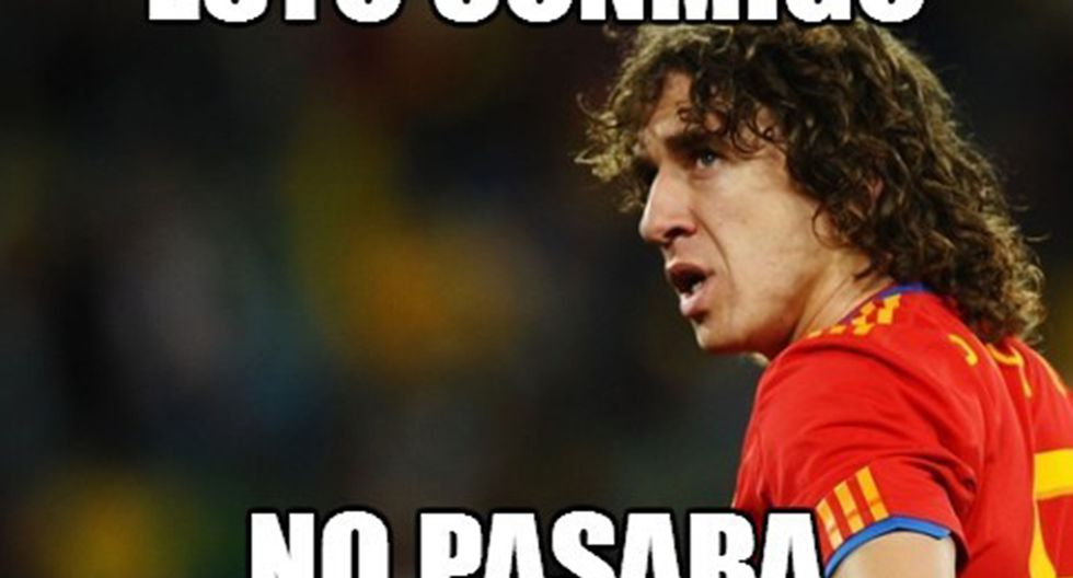 Los memes tras la goleada de Holanda sobre España [FOTOS]