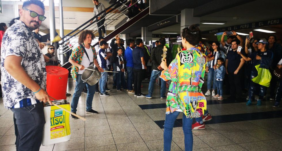 Alianza Lima vs. Sport Huancayo   Así se viven el ambiente en las tribunas de 'Matute'   FOTO Twitter Alianza Lima