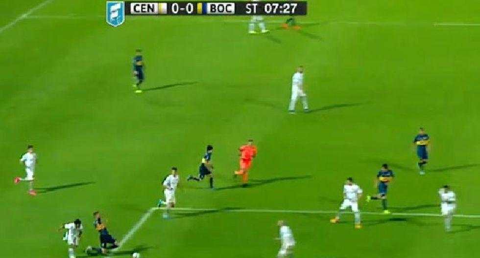 Boca Juniors y la 'ayudita' del árbitro en la final de la Copa Argentina [VIDEO]