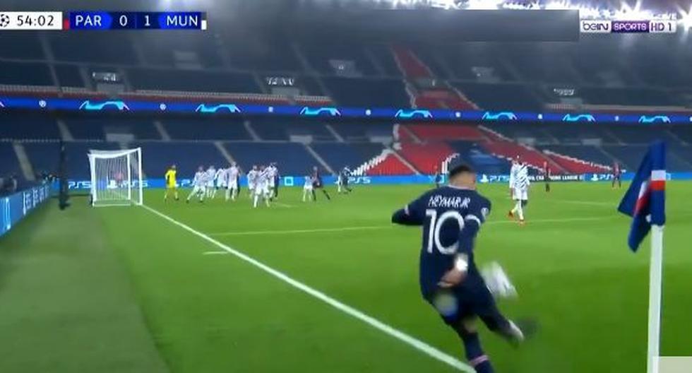 PSG vs. Manchester United: Neymar y el centro que propició autogol de Martial para el 1-1 | VIDEO