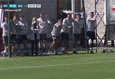 Matías Suárez generó preocupación tras culminar los entrenamientos de River Plate