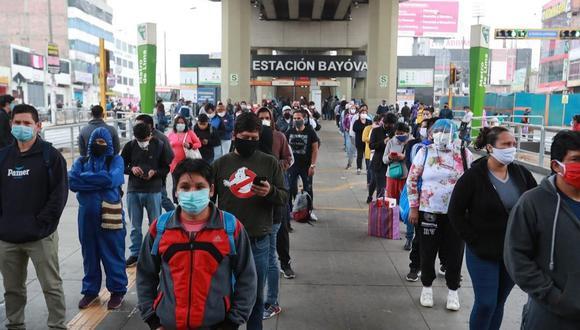 El Minsa indicó que este viernes aumentó la cifra de contagios por COVID-19. (Foto: Leandro Britto/GEC).
