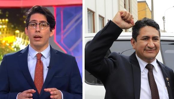 El periodista invitó al ex gobernador de Junín a discutir en el programa Cuarto Poder.