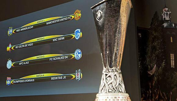 Europa League: Conoce los cuartos de final