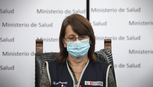 """""""En esa época que ella (Pilar Mazzetti) recibe la vacuna, ya estábamos vacunando (a integrantes de la primera fase)"""", aclaró Fernando Carbone.  (Foto: GEC)"""