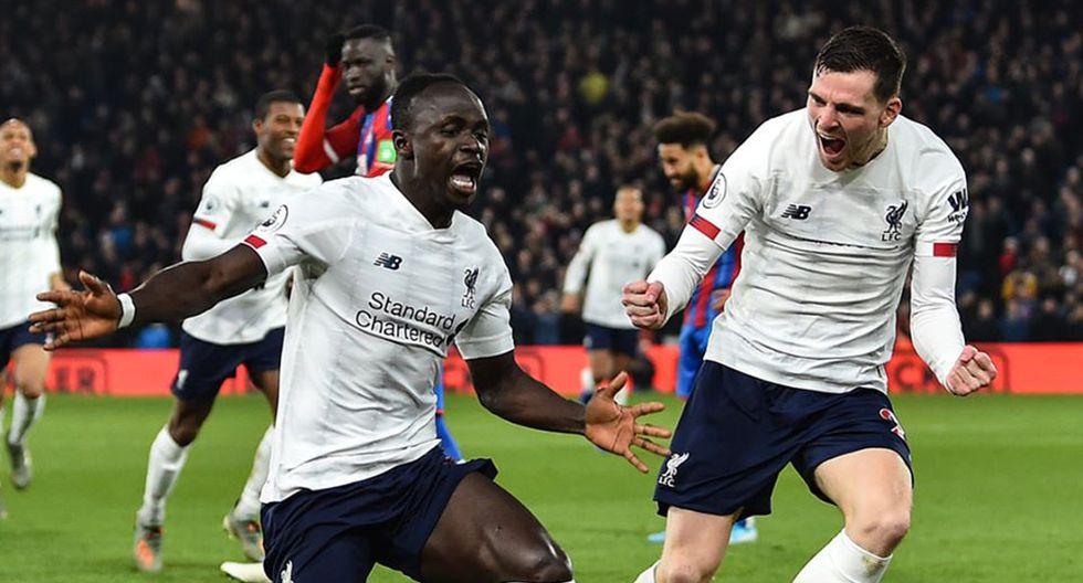 Con Sadio Mané, nominado al equipo del año de la UEFA; Liverpool expone su larga imbatibilidad. (Foto: Liverpool FC)