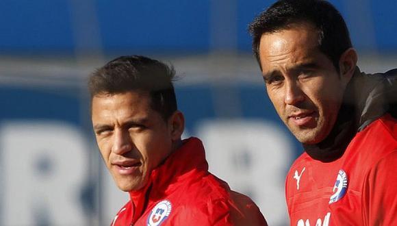 Claudio Bravo y su alegría por posible llegada de A. Sánchez al M. City