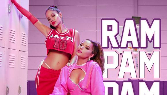 """""""Ram Pam Pam"""", la nueva canción de Becky G y Natti Natasha. (Foto: Sony Music)"""
