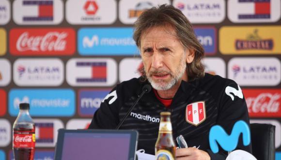 Ricardo Gareca es entrenador de la Selección Peruana desde el 2015. (Foto: FPF)
