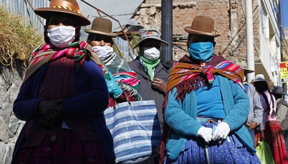 Más de 8 millones de familias peruanas cobrarán el segundo Bono Familiar Universal entre octubre y diciembre de 2020 (Foto: Carlos Mamani / AFP)